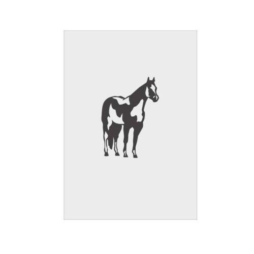Airbrush Schablone Stencil Template Vorlage Tiere 1007  Pferd