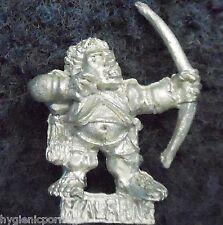 1992 Halfling Bow 6 Games Workshop Citadel Warhammer Empire Army Bowman Archer