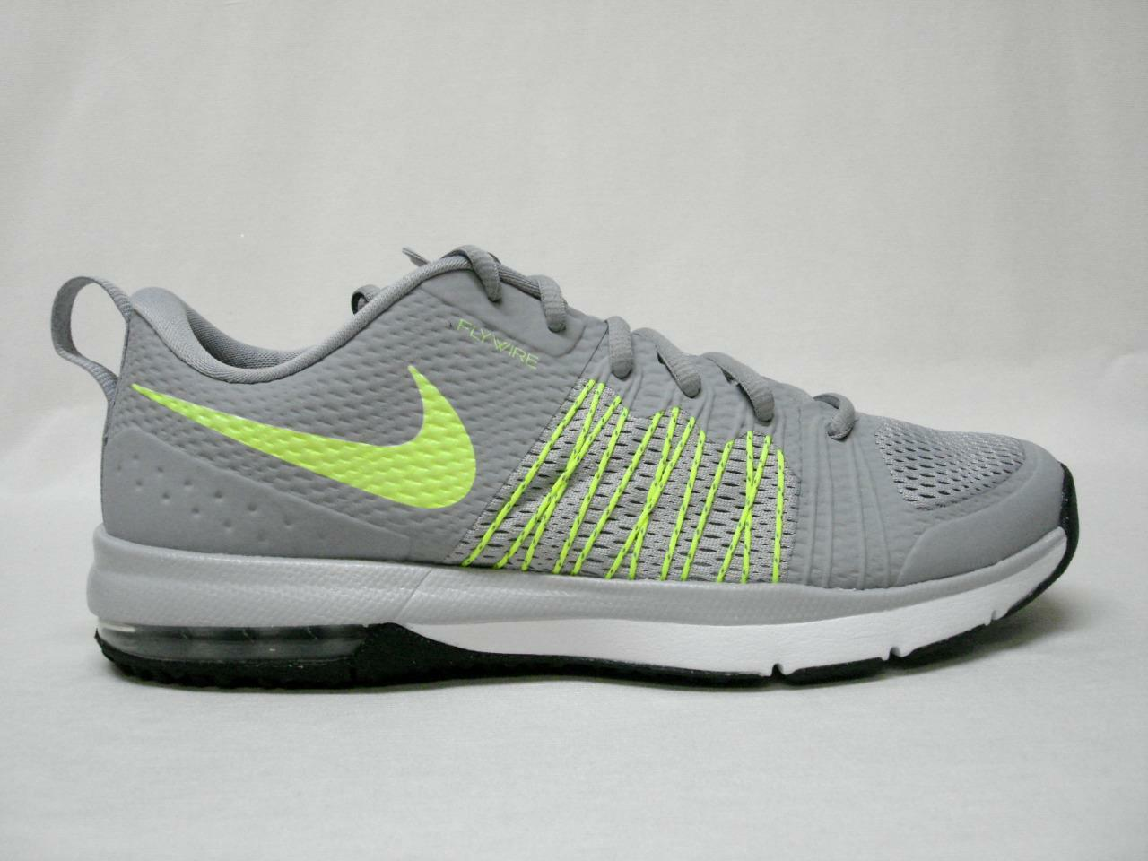 NIB NIKE AIR MAX EFFORT TR MEN'S SHOE'S 9 GREY/YELLOW~AWESOME LOOKING SHOE'S