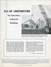 Equipment Brochure Portland Cement Concrete Tilt Up Construction 1946 E5952