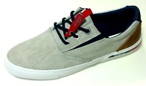s-Oliver-Herren-Schuhe-Sneaker-Halbschuh-Schnuerer-Slipper-Textil-13624-grau
