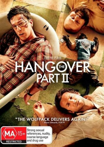 1 of 1 - The Hangover Part II NEW R4 DVD