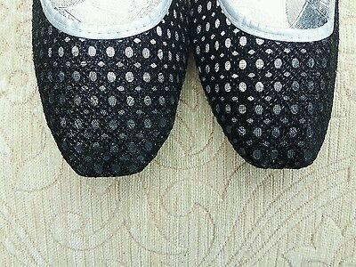 Red Negra Damas Indio Boda Fiesta Khussa tamaño del zapato 3