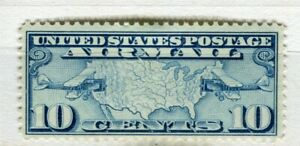 USA-1926-early-AIR-issue-Mint-hinged-10c-value