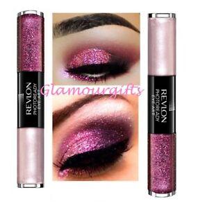 cbb1e1f60799 Revlon Photoready Eye Art Cream Shadow Base   Glitter Fuchsia Flash ...