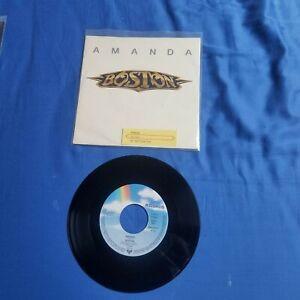"""Vinyl 7"""" Singel..BOSTON.."""" Amanda""""..VG ++ / VG ++..mit Einleger..Jahr 1986"""