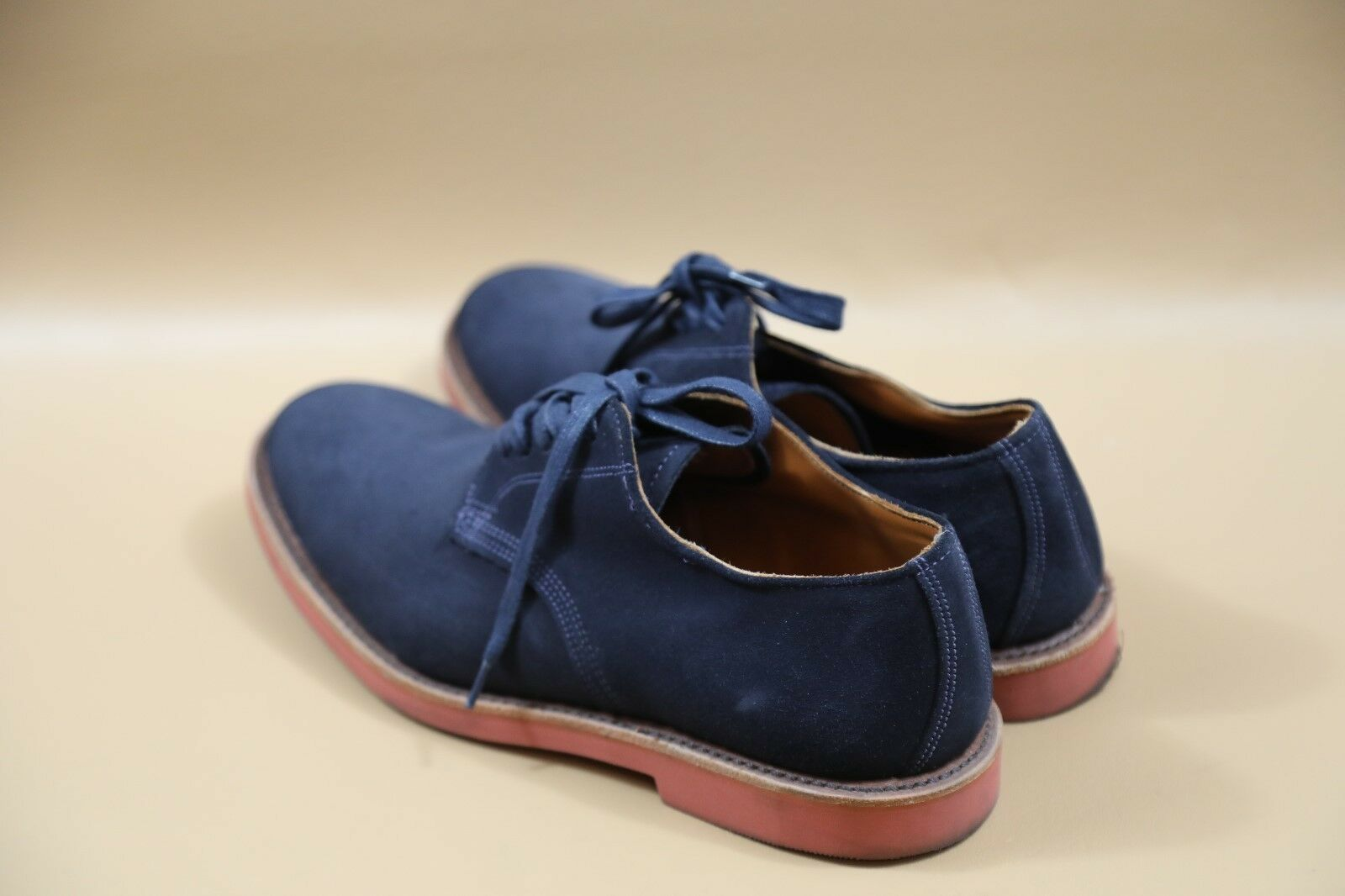 #374 Walk-Over Blue Leather Oxfords Size 10  MADE… - image 3