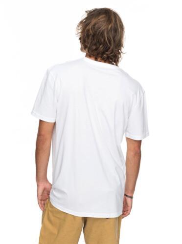 New Morning Slides White Cotton Top Crew thé 8 S 74 WBBO QUIKSILVER Mens T Shirt