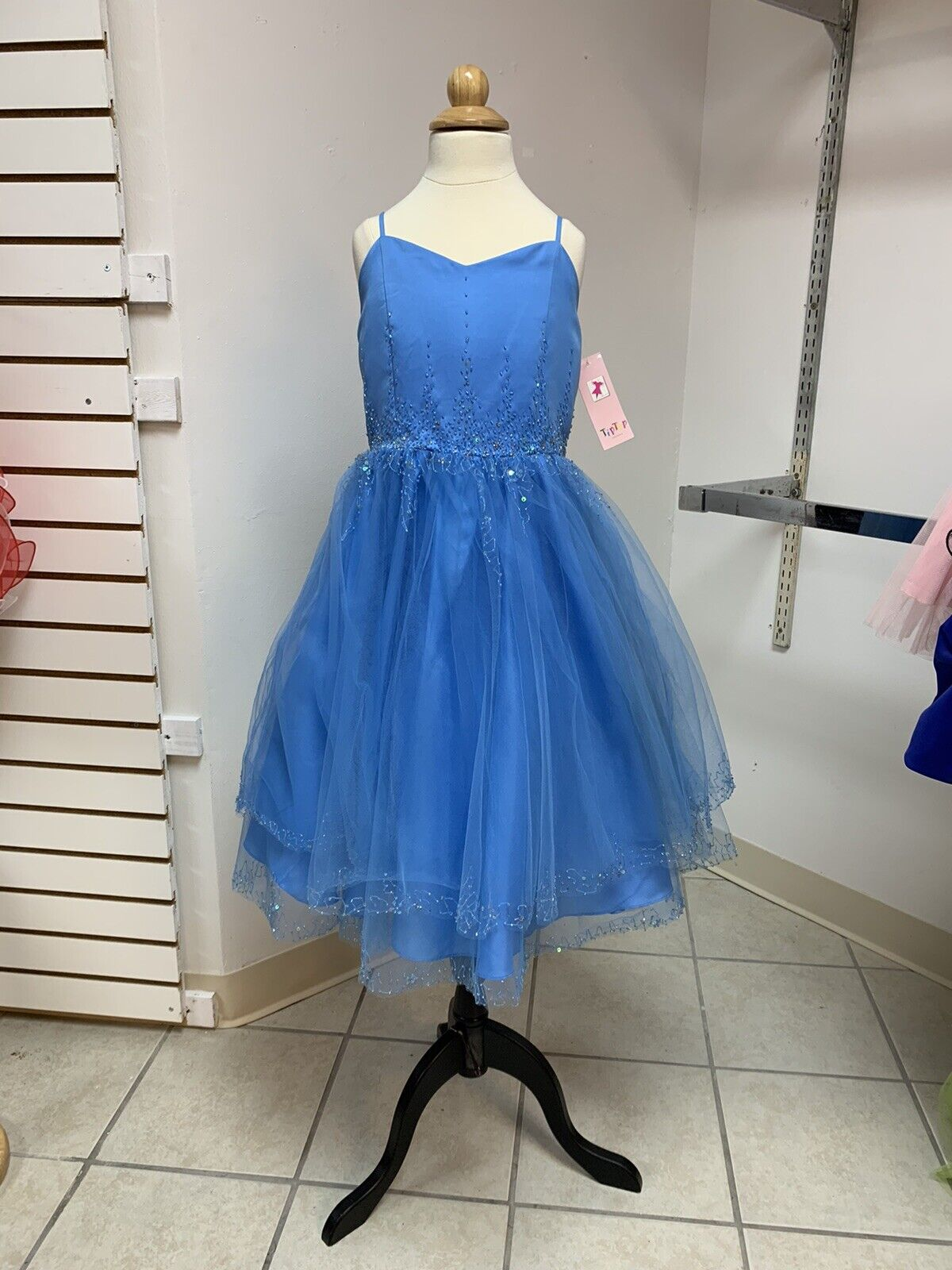 8 Easter Flower girl Pageant Crowning Special Occasion Formal Party Dress NWT