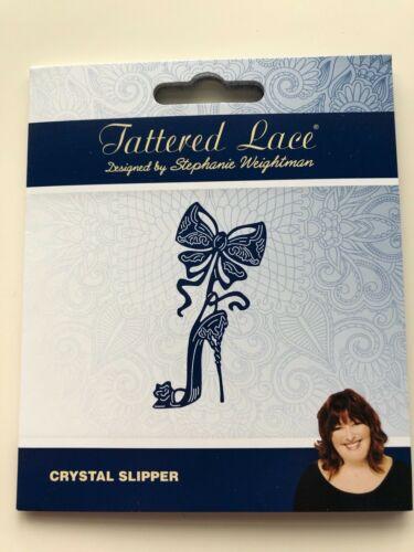 Tattered Lace Crystal Slipper BNIP
