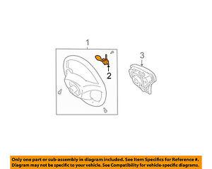 details about pontiac gm oem 03 08 vibe cruise control main switch 889742742001 pontiac sunfire fuse diagram