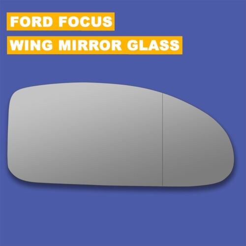 For Ford Focus wing mirror glass 98-05 Right Driver side Aspherical Blind Spot