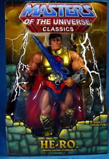 "MASTERS OF THE UNIVERSE Classics_HE-RO 6 "" action figure_SDCC 2009 Exclusive_MIB"