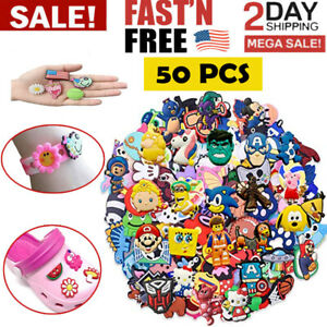 50-Mixed-Pvc-Shoecharm-Lot-Different-Shoe-Charms-For-Croc-And-Jibbitz-Wristband