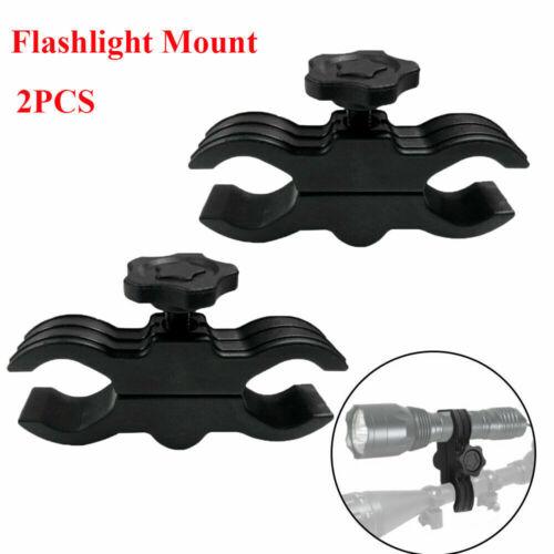 Gun Mount Flashlight Hunting Light Torch Barrel Clamp For Gun Shotgun Rifle