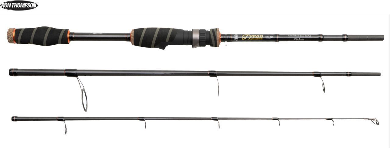 Ron Thompson Tyran NX Fishing Rod 7'(210cm)-10'(300cm) Travel 70-87cm