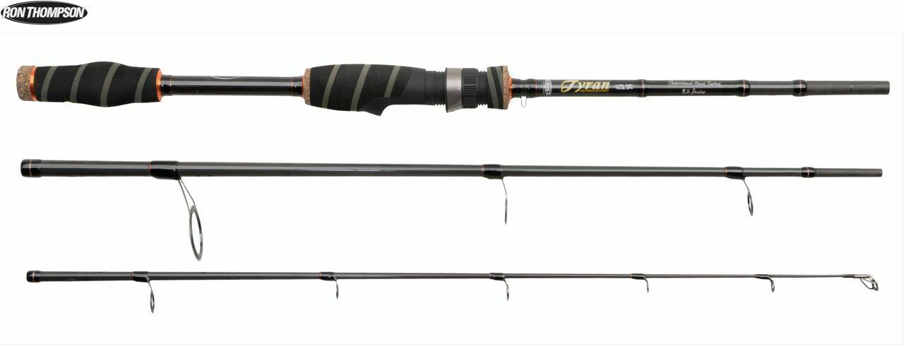 RON THOMPSON Tyran NX canna da pesca 7' 210cm 10' 300cm Viaggio 7087cm