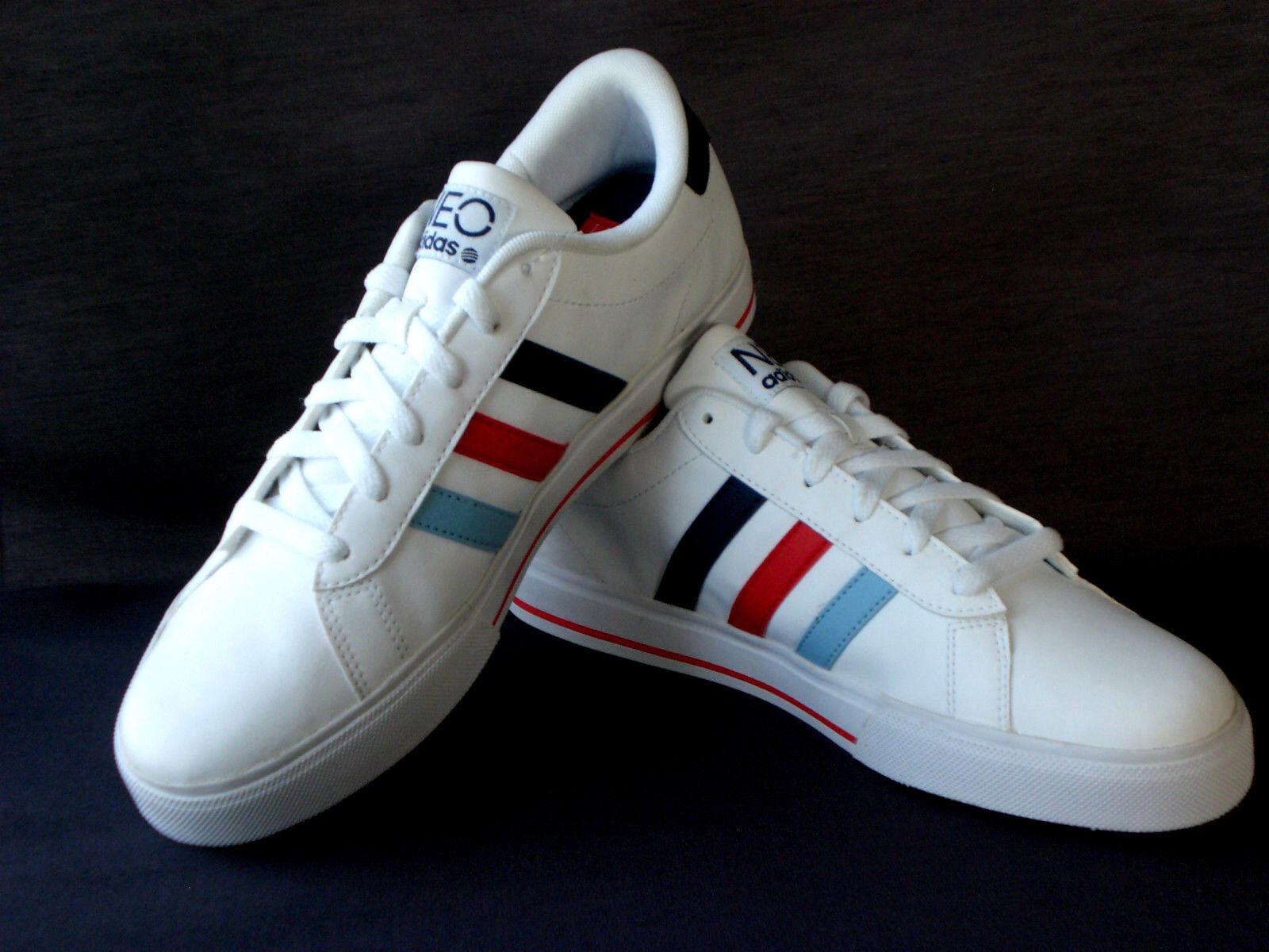Adidas SE Daily vulc F38971 Unisex Unisex Unisex Lauf- Turnschuhe Weiß Gr 41 1 3 Neu  | Auf Verkauf  cff473