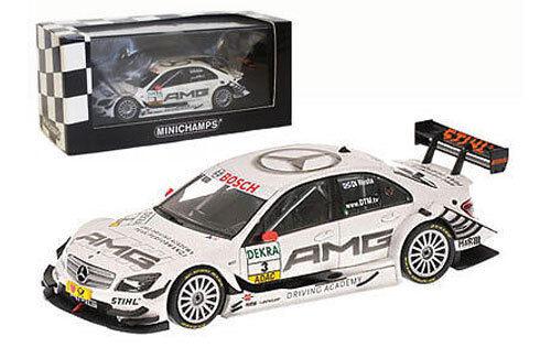 en stock Minichamps Mercedes Benz C-class Dtm 2009-Paul 2009-Paul 2009-Paul di Resta 1 43 Escala  servicio de primera clase
