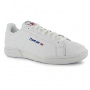 Men's Reebok NPC II Casual LEATHER Sneaker white 1354