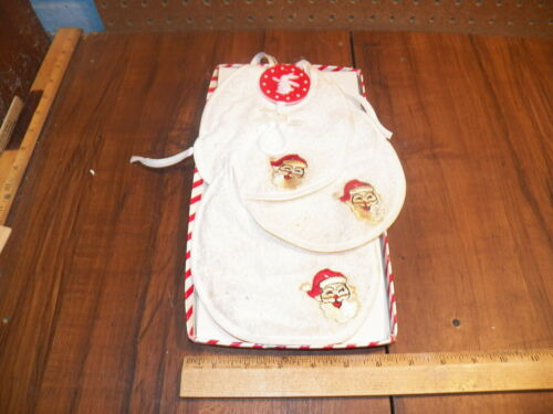 Vintage 1960s GIVENS DEE'S Terry Cloth Droolers Bi
