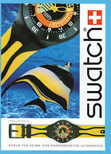 BELLEU004-PUBBLICITA'/ADVERTISING-2004- SWATCH NUOVO FUN SCUBA
