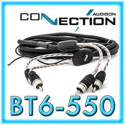 Audison Connection Best BT6-550 6-Kanal-Cinchkabel 5,5 m