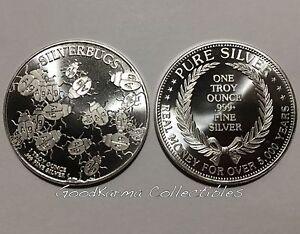 2 X 1 oz 999 Fine Silver Buffalo Liberty Round 1oz, Coin, Bar, Bars 2011