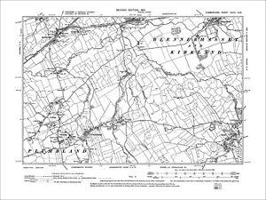 OLD ORDNANCE SURVEY MAP BESCOT 1901 WOOD GREEN ELWELLS POOL WEDNESBURY PALFREY