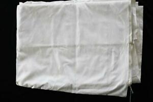 RARE-VINTAGE-DEADSTOCK-1930-039-S-1940-039-S-WHITE-SILK-DAMASK-FABRIC-6-YDS-X-70-034-W