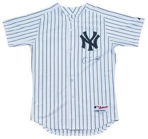 new concept 21e32 0b2df Details about Gary Sanchez Signed Authentic New York Yankees Game Model  Jersey Steiner COA
