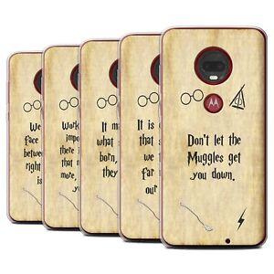Gel-TPU-Case-for-Motorola-Moto-G7-G7-Plus-School-Of-Magic-Film-Quotes