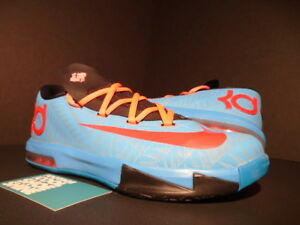 d82827767ade 2013 NIKE KEVIN DURANT KD VI 6 GS N7 TURQUOISE BLUE RED BLACK PINK ...