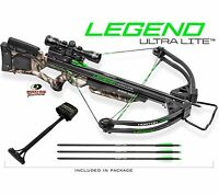 Horton Legend Ultralite 4x32 Multi-line Scope Camo Crossbow Package Nh15050-7550