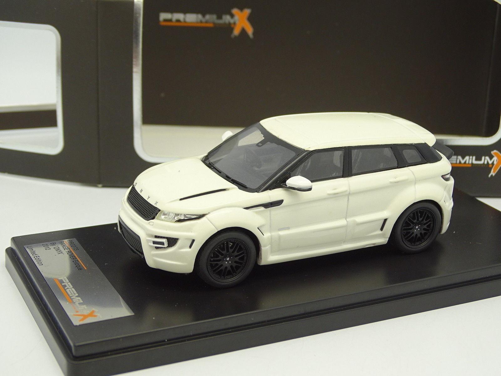 Premium X Résine 1 43 - Range Rover Evoque Onyx 2012 whitehe
