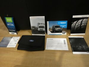 2018 Ford TRANSIT OWNERS MANUAL BOOK SET + CASE + NAVIGATION + SYNC ALL TRIMS | eBay