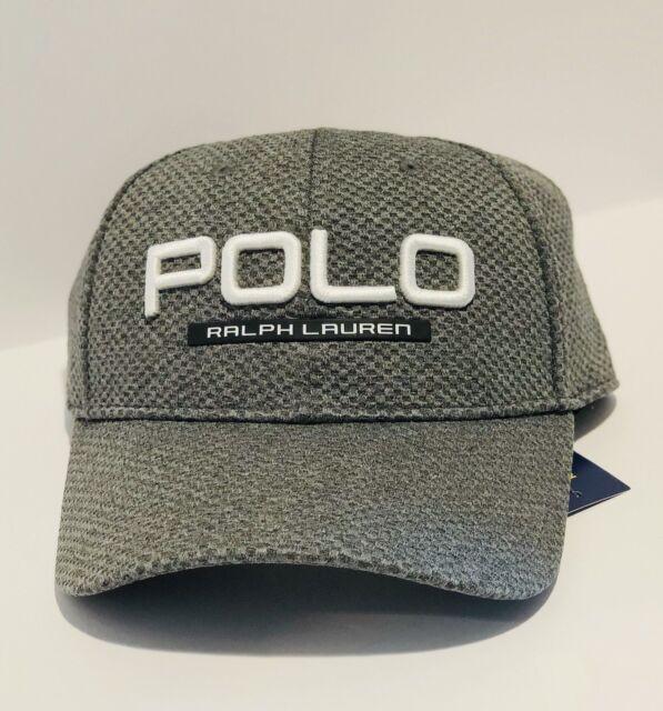 Polo Ralph Lauren Men s Performance Mesh Cap Hat Gray -  41f9f47d1b6