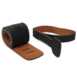 Reglable-PU-Cuir-Guitare-electrique-Sangle-Relief-Courroie-Bandouliere-Laniere