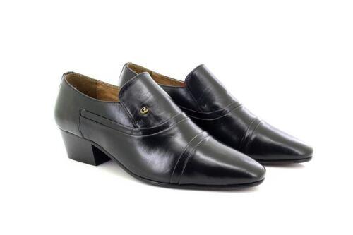 Noir Chaussures Homme 26287 Formel ᄄᄂ En Cuir Slip Pour Lucinilᄄᆭgant Talons reEQCoWdxB