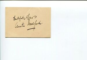 Austin-Melford-1930s-Actor-Writer-Director-Champagne-Charlie-Signed-Autograph