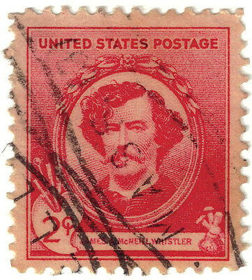 (USA220) 1940 2c red James A whistler ow863