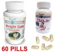 Gain Weight Pills Fast Gain Weight – Weight Gainer Pills (qty 60) Tulsi Herbal