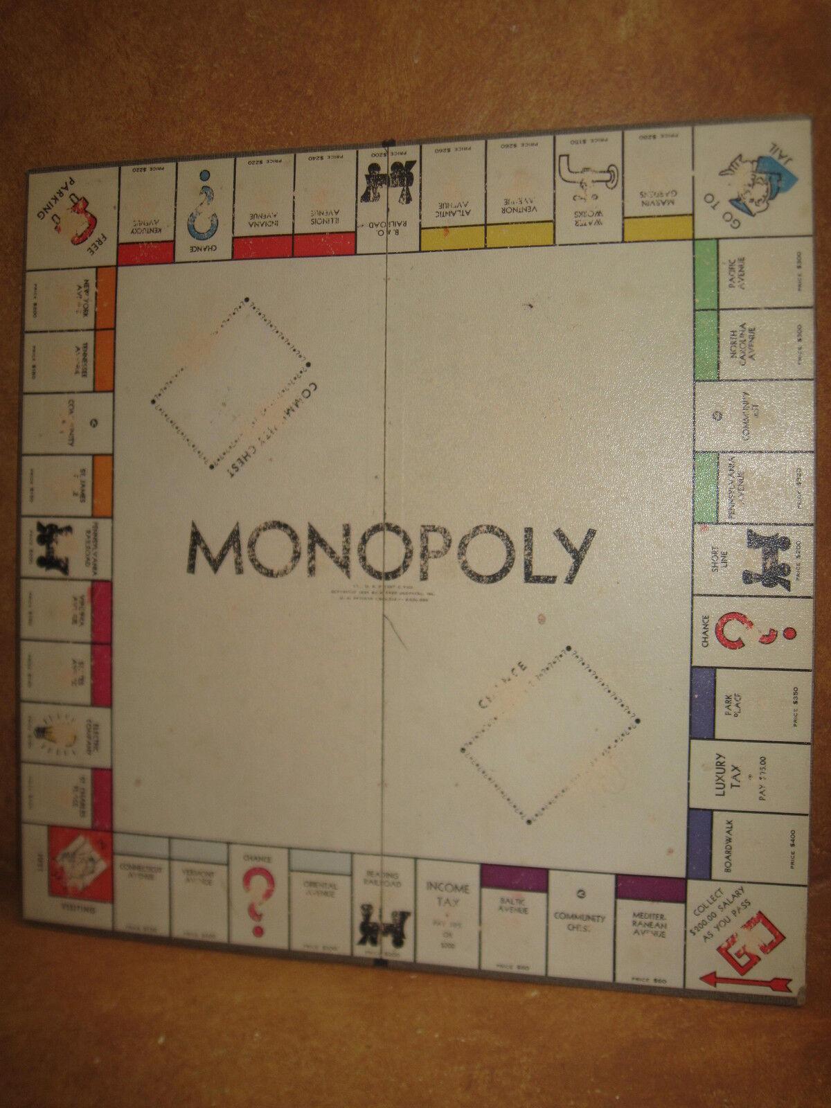 Jahrgang 1935 monopol board nur