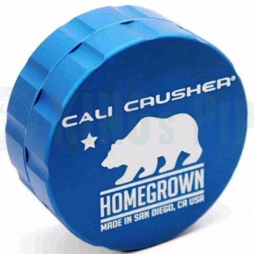 Blue Cali Crusher Homegrown 2 Piece Herb Grinder 2.35/'/' Standard Size