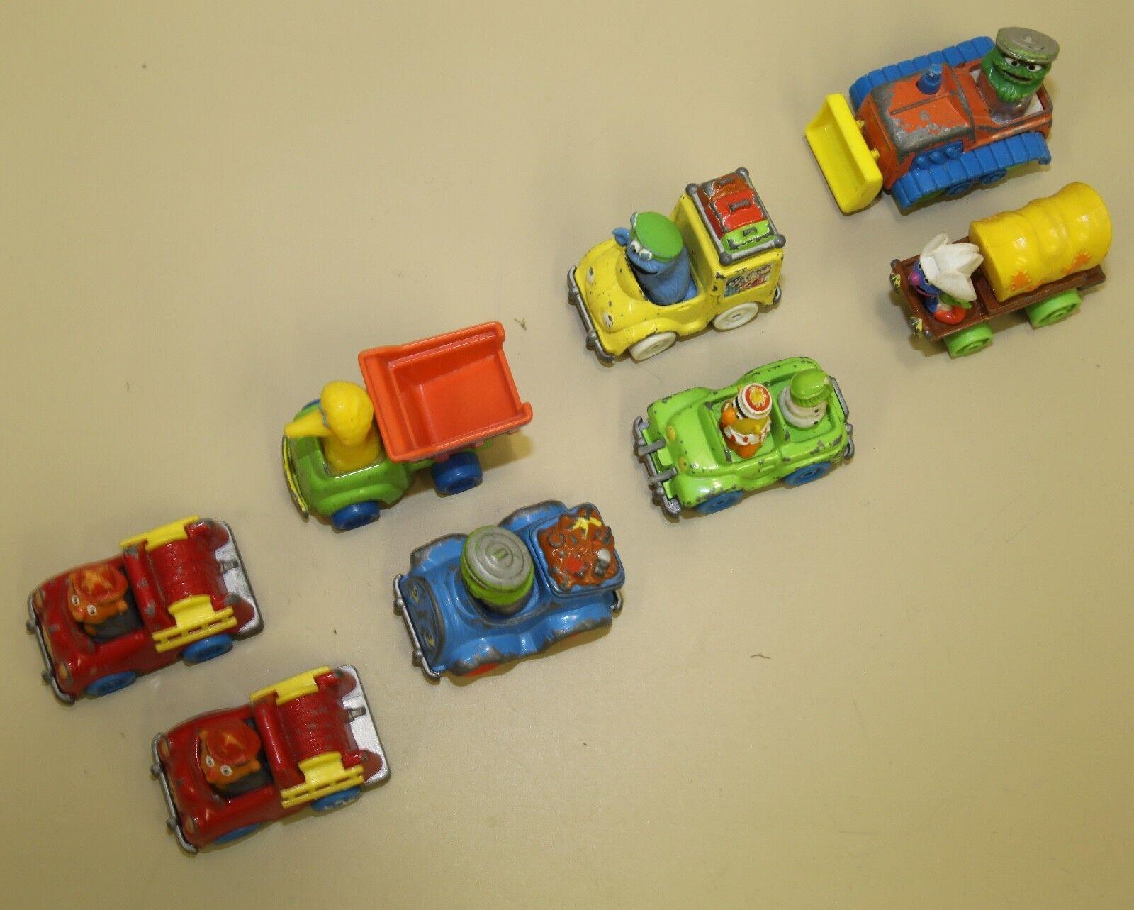 VINTAGE MUPPETS PLAYSKOOL CARS DIECAST 1981 1982 1982 1982 1983 1986 1987 240b41