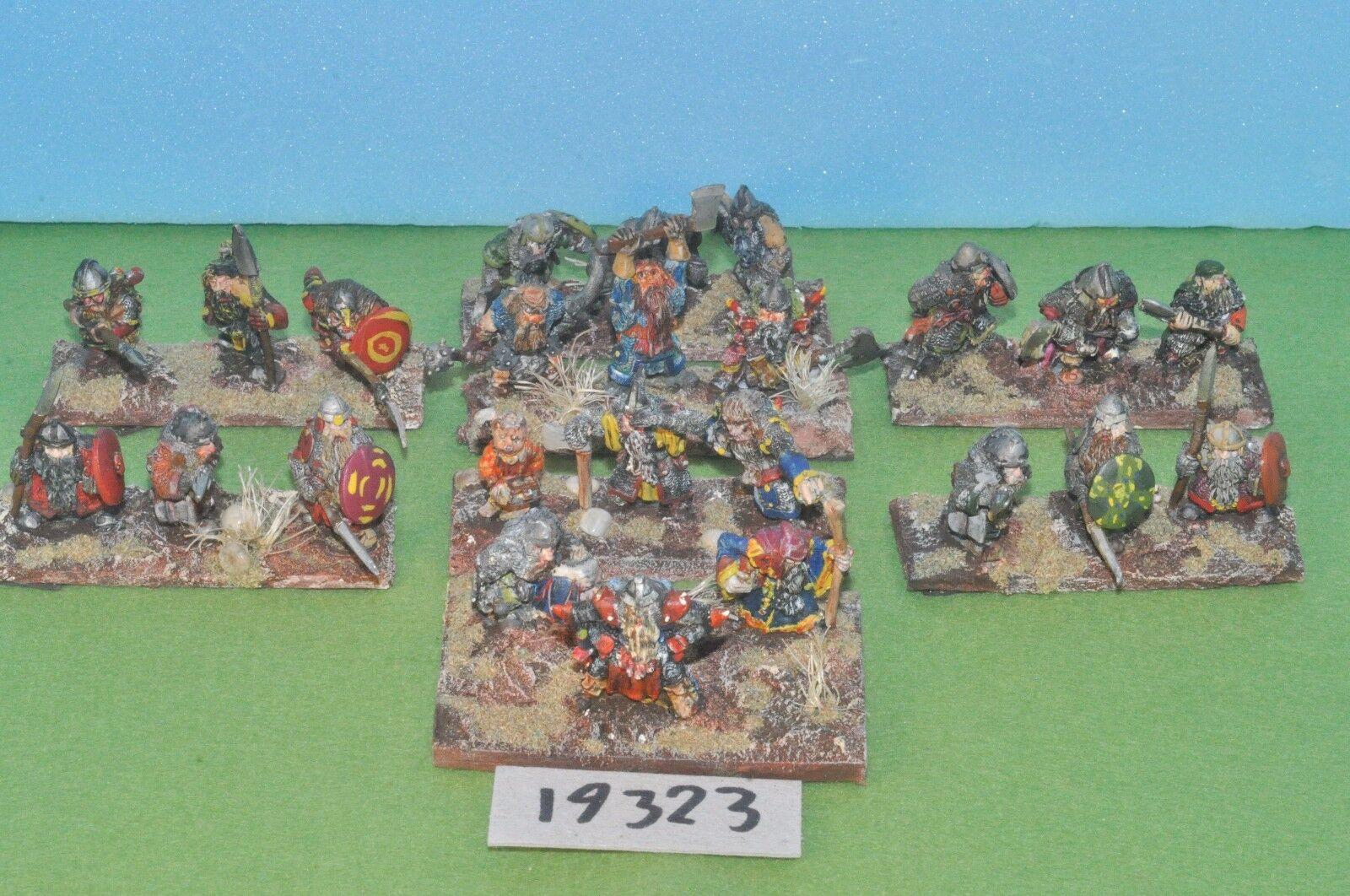 Item fantasy   warhammer - dwarf warriors 24 metal - (19323)
