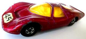 Blechspielzeug 45 1969 Made In England By Lesney Starke Verpackung Gefertigt Nach 1970 Hart Arbeitend Matchbox Superfast Rennwagen Ford Group 6 No