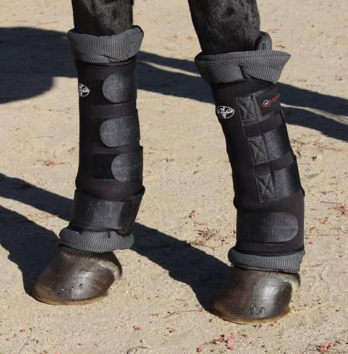 Professional's Choice cheval jambe Thérapie theramic Combo Wraps schwarz M Pro Prof