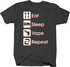 1Tee Mens Eat Sleep Shed Repeat T-Shirt