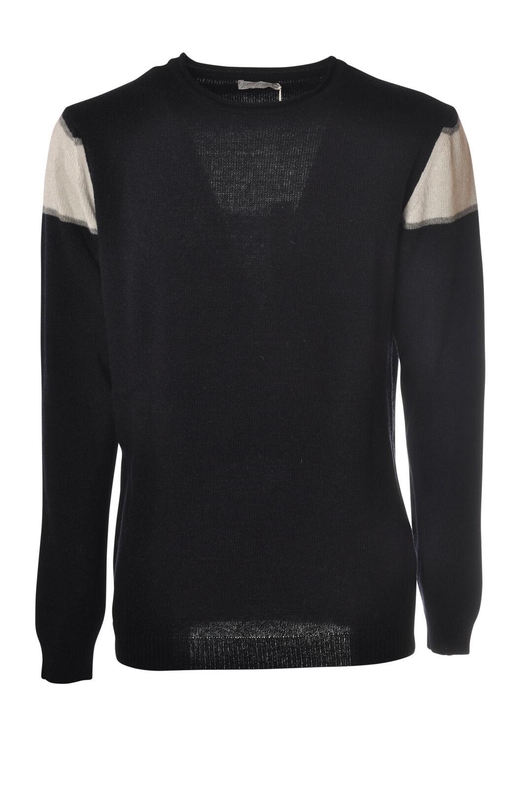 Daniele Alessandrini - Knitwear-Sweaters - Man - Blau - 5581407C195026